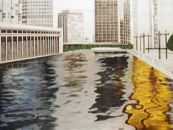 Reflection Pool Illustration